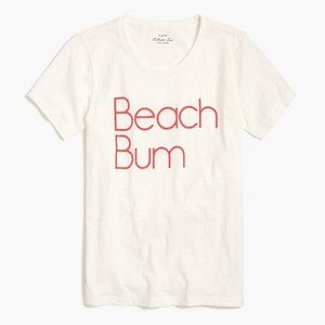 "J.Crew Collector Tee ""Beach Bum"" Graphic T Shirt"